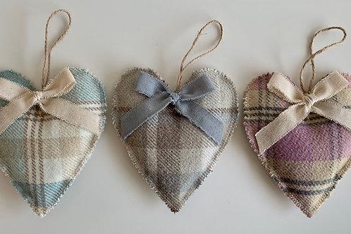 Lavender Hanging Heart | Balmoral Round