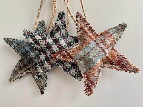 Tartan Hanging Star