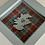 Thumbnail: Love Scotland Tartan Textile   10cm Green