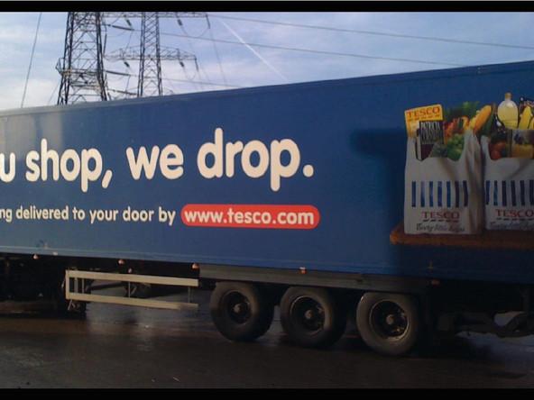 Tesco Vehicle Graphics