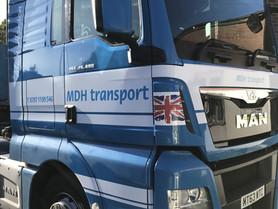MDH Transport Vehicle Lettering