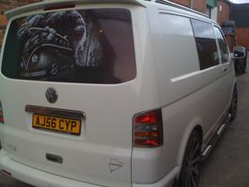 VW Van Window Graphics