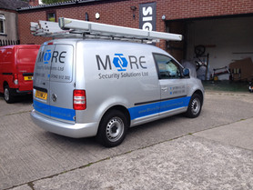 Moore Security Vehicle Graphics