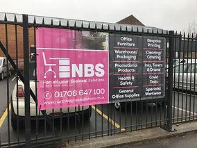 NBS Mesh Banner
