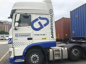 GS Transport Vehicle cab Graphics