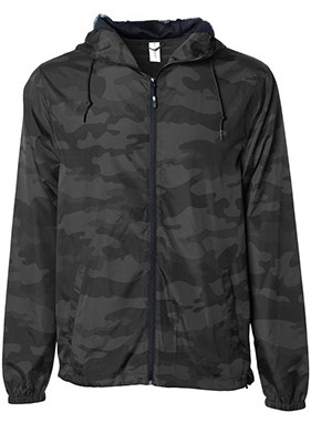 BLACK CAMO WINDBREAKERS