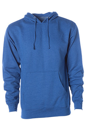HEATHER ROYAL HOODY