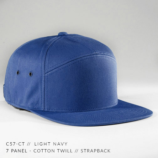7 PANEL HAT ROYAL
