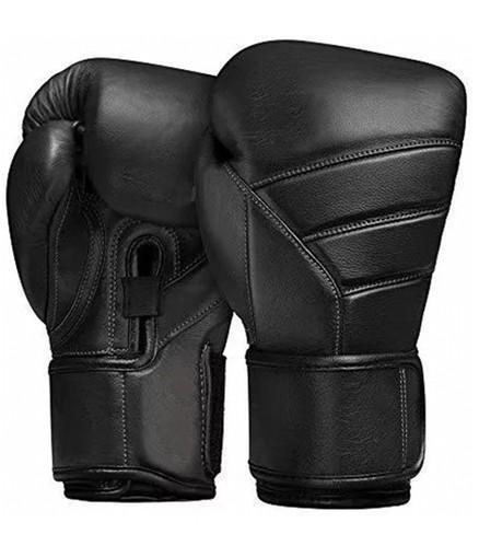 Black hybrid gloves