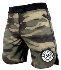Camo Custom MMA Shorts