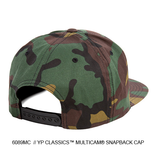 GREEN CAMO HAT BACK
