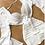 Thumbnail: Conjunto Três Peças Top Cropped Bordado Top Flare e Saia
