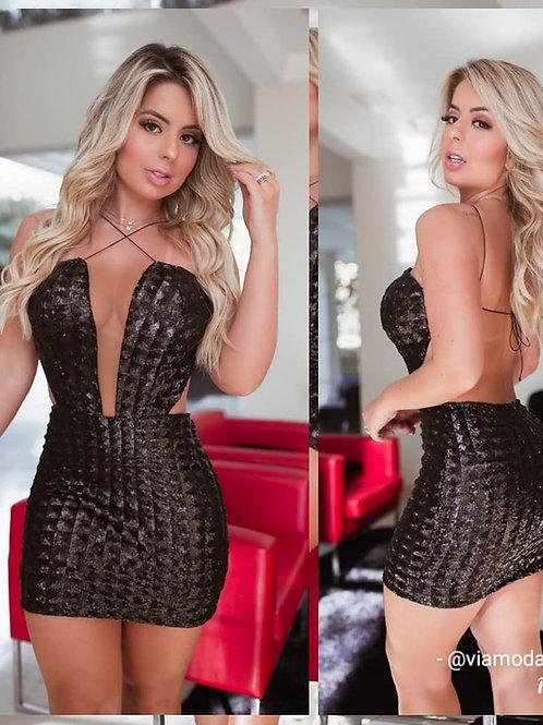 Vestido Colmeia
