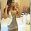 Thumbnail: Vestido Bicolor Bordado Luxo