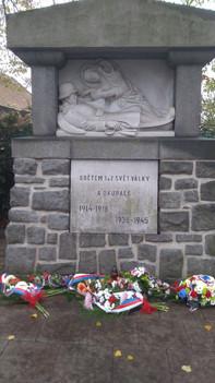Den válečných veteránů v Šenově u