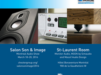 Massif at the Montreal Audio Show