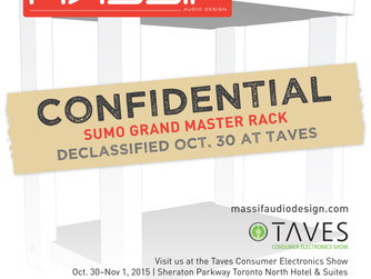 Declassified at the TAVES Consumer Electronics Show—THE SUMO GRAND MASTER RACK