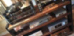 custom hardwood component racks and isolation platforms