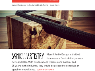Our newest dealer: Sonic Artistry