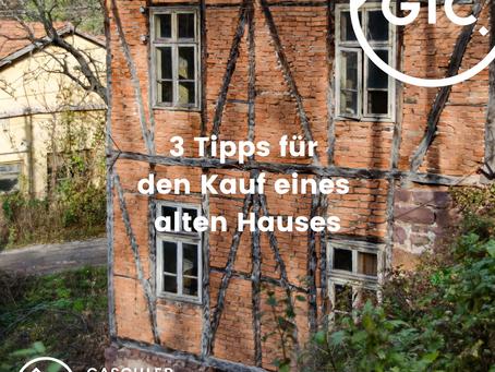 Kauf eines alten Hauses in Wangen im Allgäu