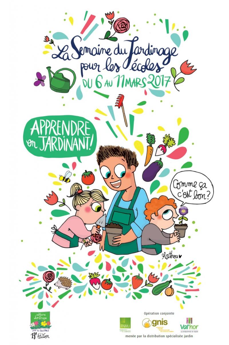 Visuel Semaine du Jardinage 2017