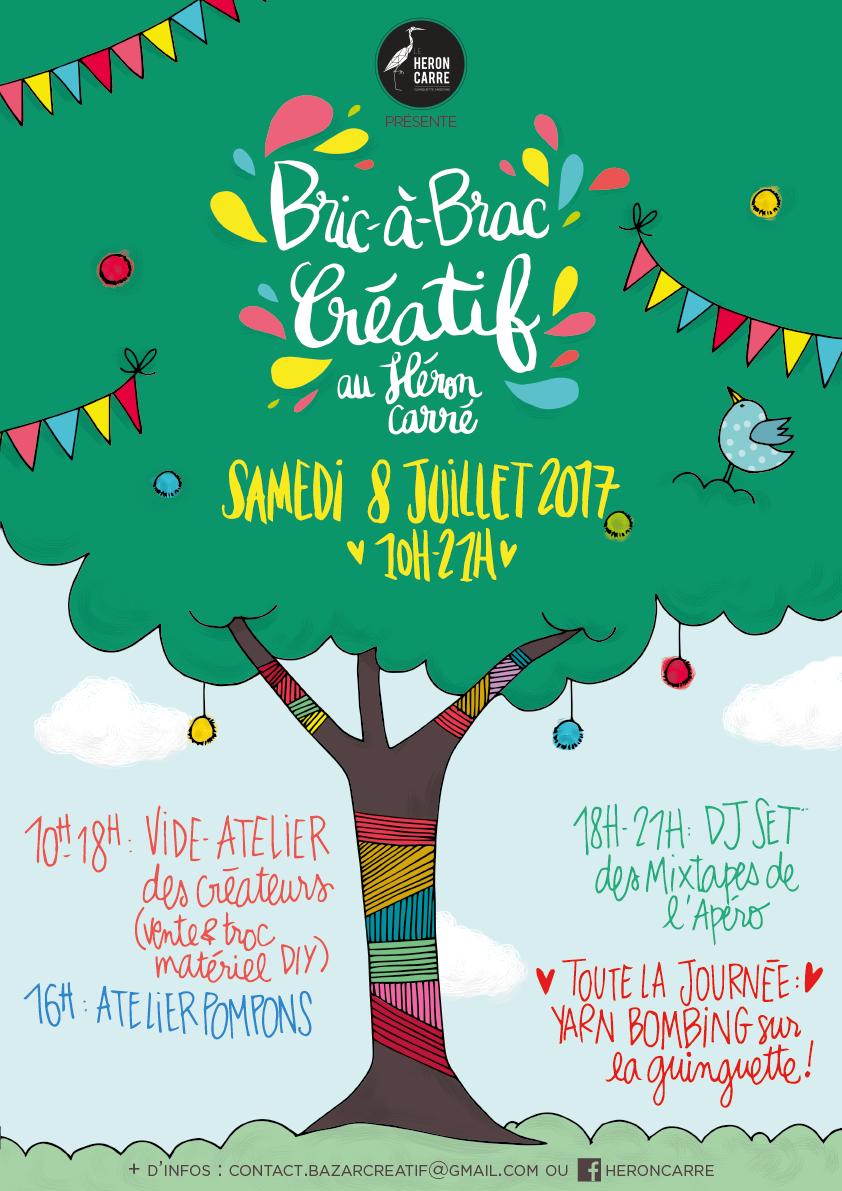 Visuel Bric-à-Brac Créatif