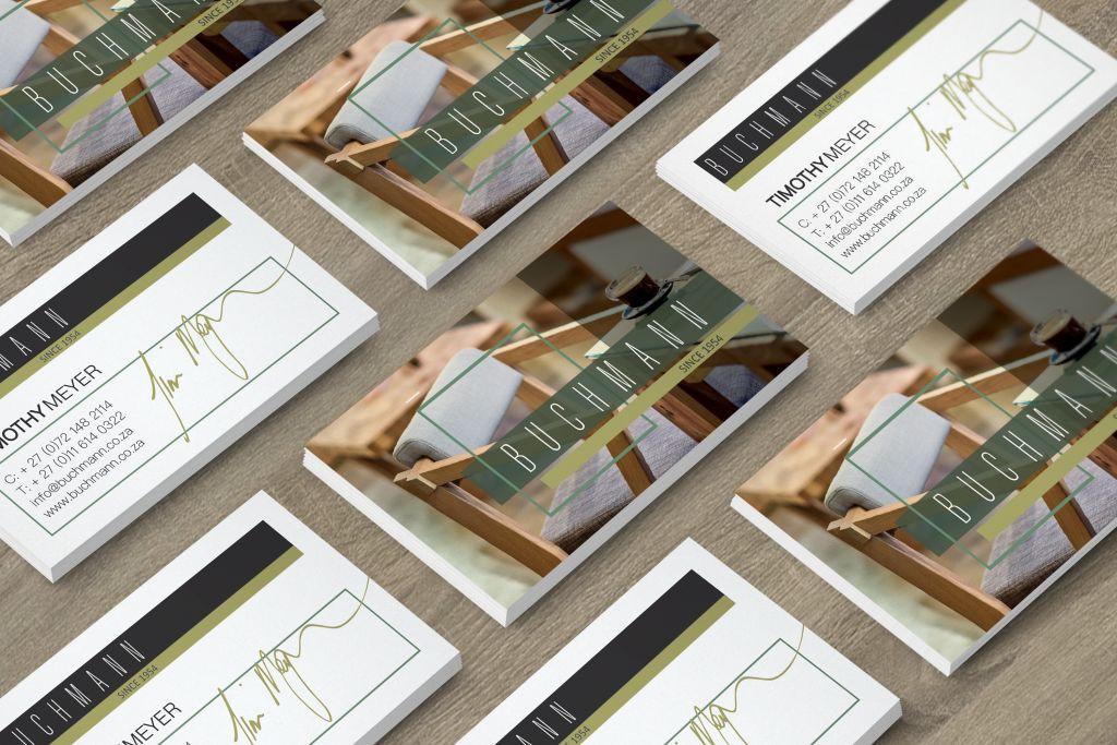 BUCHMANN CORPORATE BUSINESS CARDS