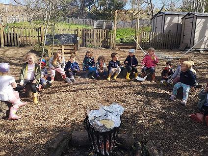Happy Adventures Preschool - Fire Circle