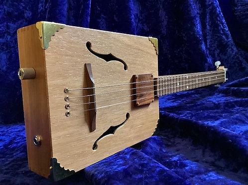 Four string Cigar Box Guitar