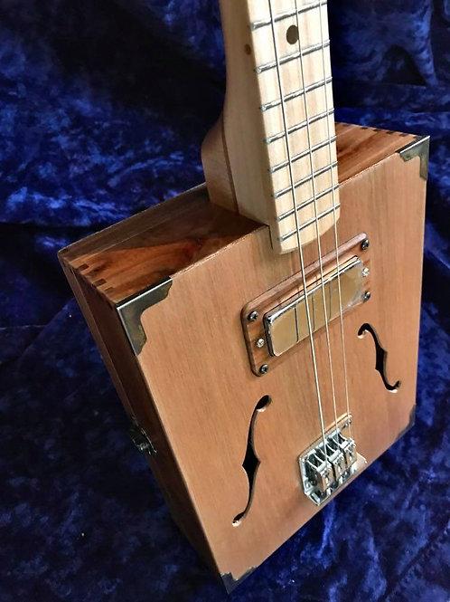 Three string Cigar Box Guitar – Hardtail Bridge