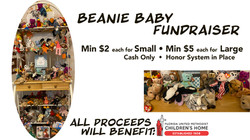 Beanie Baby Fundraiser
