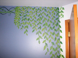 Fairy Garden Mural, Vines