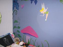 Fairy Garden Mural 1