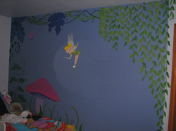 Fairy Garden Mural 2