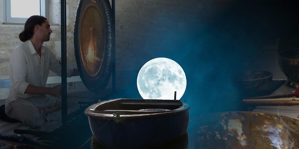 Deuxième session : Solstice d'hiver et pleine lune aux sons des bols chantants et de gongs