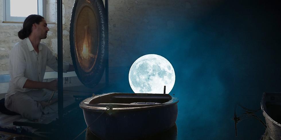 2ème session : Grand bain de gongs printemps, pleine lune et équinoxe