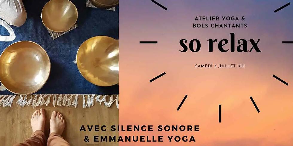 Atelier Flow Yoga et Bols chantants