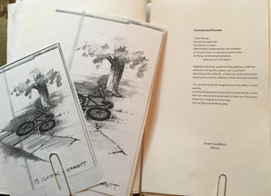 The Making of an Anthology ~                         The Selection of Artwork for In Plein Air