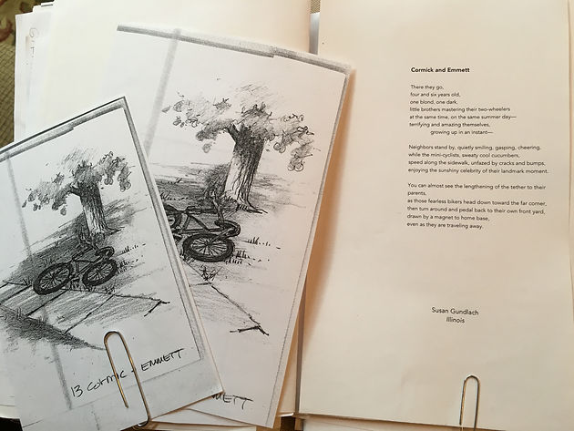 The Making of an Anthology ~ The Selection of Artwork for In Plein