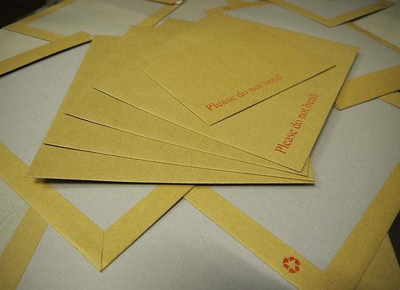 Board Backed 'Please do not bend' Envelopes (Packs of 25)