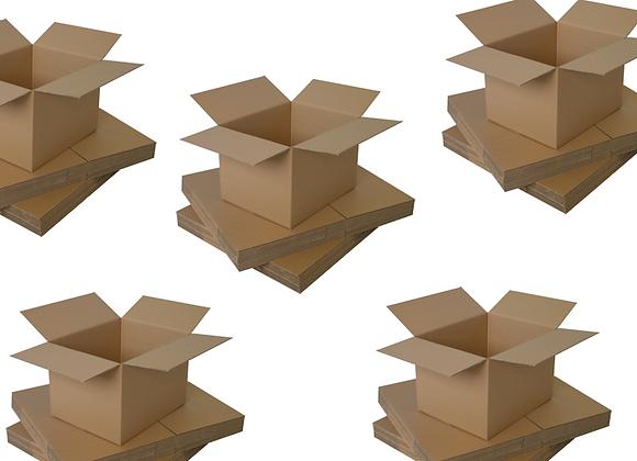 "12x9x6"" Single Walled Cardboard Boxes"