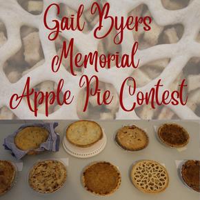 Gail Byers Memorial Apple Pie Contest