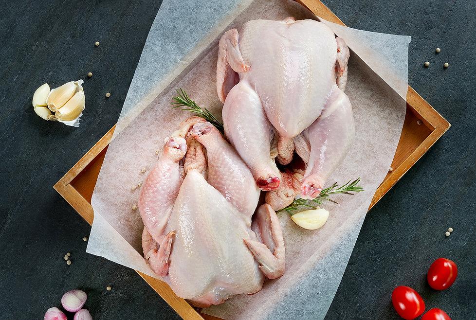 No hormones no antibiotics free-range chicken in Thailand