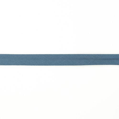 Biais coton Double Gaze - 20mm - Jeans