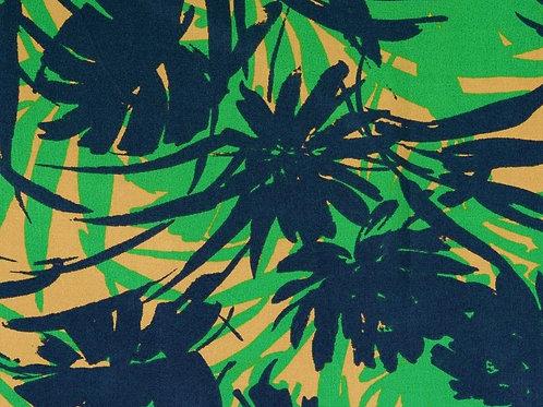 Viscose feuilles tropicales