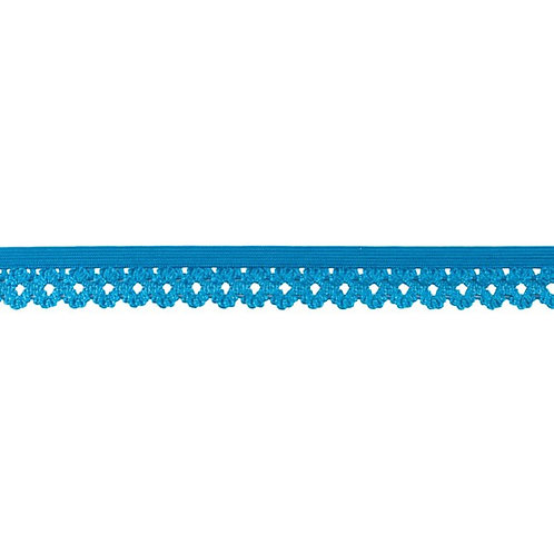 Elastique Dentelle 20MM - Aqua