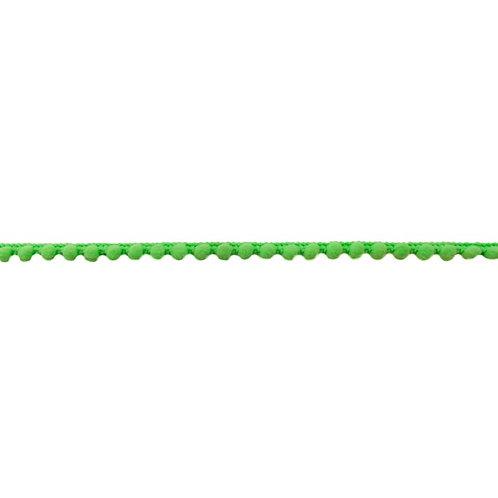 Galon pompon 7MM - Vert Neon