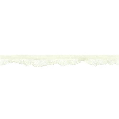 Elastique Dentelle 14MM - Blanc cassé