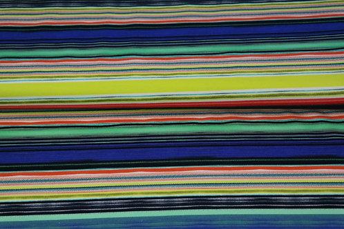 Jersey lignes - bleu/jaune