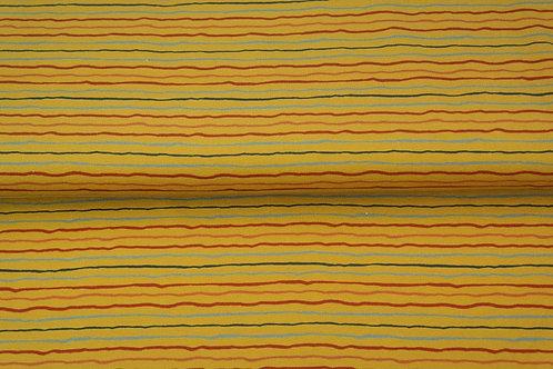 Jersey lignes Moutarde